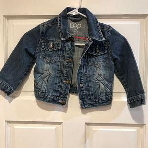 BABY GAP GIRLS Classic Denim Trucker Jacket 3t